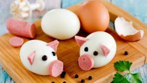 Creative Boil Egg Art That'll Love